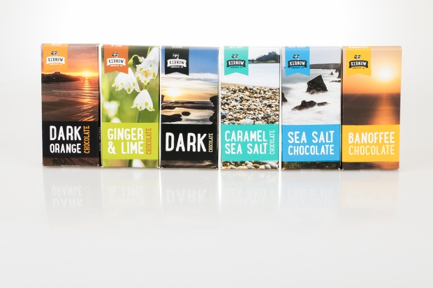 Kernow Chocolate - New 2016 bar designs